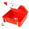 "Orange & White ScriptSafe Case with Lockdown - 8-1/2"" L x 7-1/8"" W x 2-3/4"" Hgt."