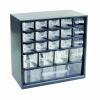 "20 Drawer Parts Station™ Storage Cabinet - 12"" L x 6-1/4"" W x 11  1/4"" H"