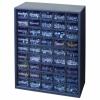 "45 Drawer Parts Station Storage Cabinet - 12"" L x 6-1/4"" W x 16-1/2"" H"