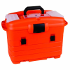 "Orange & Black Paramedic Case - 18"" L x 11"" W x 4"" Hgt."