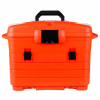 "Orange & Black Paramedic Case - 18"" L x 11"" W x 4"" H"