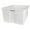 """24"""" L x 20"""" W x 12"""" H White Polyethylene Tamco® Jumbo Tote Pan"""