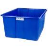 "30"" L x 20"" W x 15"" H Blue Polyethylene Tamco® Jumbo Tote Pan"