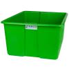 "30"" L x 20"" W x 15"" H Green Polyethylene Tamco® Jumbo Tote Pan"