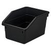 """Black Nesting Parts Bin - 10-1/4"""" L x 7-1/2"""" W x 6"""" H"""