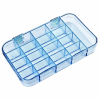 "Mighty-Tuff™ Box with 17 Compartments - 7"" L x 4"" W x 1-1/16"" Hgt."