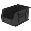 """9-1/4"""" L x 6"""" W x 5"""" H OD Black Storage Bin"""