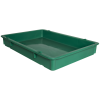 "25-3/4"" L x 18"" W x 3-11/16"" Hgt. Green Tray with Handles (Lid & Template Sold Separately)"
