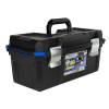 "19"" Zerust® Tool Box with Steel Latch & Tray"
