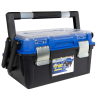 "18"" Zerust® Cantilever Tool Box with Steel Latch & Tray"