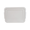 White Cover for Self-Draining Pans