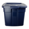 "25 Gallon Dark Indigo Rubbermaid® Roughneck - 29"" L x 20"" W x 16-3/4"" Hgt."