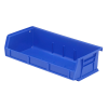 "Blue Quantum® Ultra Series Stack & Hang Bin - 5-3/8"" L x 11"" W x 3"" Hgt."