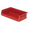 "Red Quantum® Ultra Series Stack & Hang Bin - 7-3/8"" L x 11"" W x 3"" Hgt."