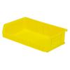 "Yellow Quantum® Ultra Series Stack & Hang Bin - 7-3/8"" L x 11"" W x 3"" Hgt."