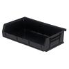 "Black Quantum® Ultra Series Stack & Hang Bin - 7-3/8"" L x 11"" W x 3"" Hgt."