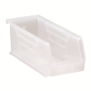 "10-7/8"" L x 4-1/8"" W x 4"" Hgt. Quantum® Clear-View Ultra Series Stack & Hang Bin"