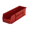 "Red Quantum® Ultra Series Stack & Hang Bin - 18"" L x 5-1/2"" W x 5"" Hgt."