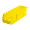 "Yellow Quantum® Ultra Series Stack & Hang Bin - 18"" L x 5-1/2"" W x 5"" Hgt."