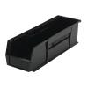 "Black Quantum® Ultra Series Stack & Hang Bin - 18"" L x 5-1/2"" W x 5"" Hgt."