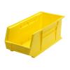 "Yellow Quantum® Ultra Series Stack & Hang Bin - 18"" L x 8-1/4"" W x 7"" Hgt."