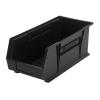 "Black Quantum® Ultra Series Stack & Hang Bin - 18"" L x 8-1/4"" W x 7"" Hgt."