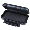 """6-1/4"""" Black ABS Ribbon™ Case with Foam"""