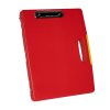 """Red LetterCase with Clip - 14-1/4"""" L x 11"""" W x 1-1/2"""" Hgt."""