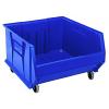 "Blue Quantum® HULK Mobile Bin - 23-7/8"" L x 22-1/2"" W x 12"" Hgt."