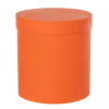 Orange Roundabout Container with Lid