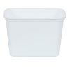 Qubic™ 16 oz. White Container (Lids Sold Separately)