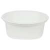 8 oz. White Quad In-Mold Container (Lid Sold Separately)