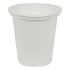24 oz. White Quad In-Mold Container (Lid Sold Separately)