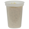 32 oz. Translucent Quad In-Mold Container (Lid Sold Separately)