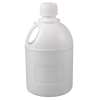 5 Gallon Natural HDPE Carboy with Handle & Screw Cap