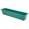 """18"""" L x 7"""" W x 5"""" H Green Fiberglass Nesting Box"""