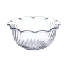 8 oz. Dinex® Clear Tulip Swirl Cup (Lid Sold Separately)