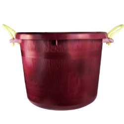 70 Quart Burgundy Multi-Purpose Bucket