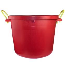 70 Quart Multi-Purpose Bucket - Red