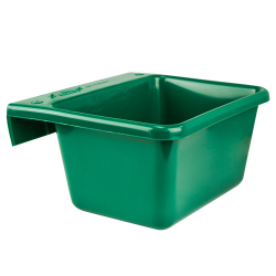 5 Quart Green Hook Over The Fence Container