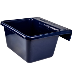 5 Quart Sapphire Hook Over The Fence Container