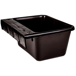 5 Quart Black Hook Over The Fence Container