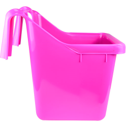 16 Quart Hot Pink Hook Over The Fence Container