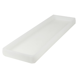 "20"" L x 6"" W x 1-1/4"" H Natural Tamco® Tray"