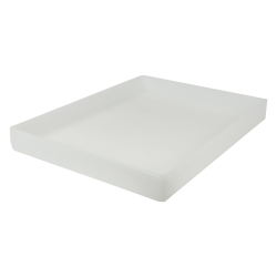 "16-5/8"" L x 12-3/8"" W x 1-1/2"" H Natural Tamco® Tray"