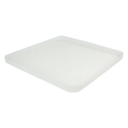 "18-1/2"" L x 18-1/2"" W x 1-1/2"" H Natural Tamco® Tray"