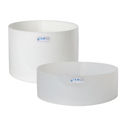 Tamco® Polyethylene & Polypropylene Round Trays & Covers