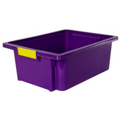 Purple Stow 'N' Tell ® HD Nest Stacking Bin - 16-1/4