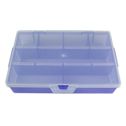 Translucent Grape Small Organizer Case with Clear Lid - 7