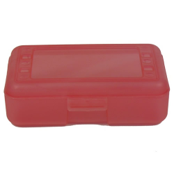 "Strawberry Pencil Boxes - 8.5"" L x  5.5"" W x 2.5"" Hgt."
